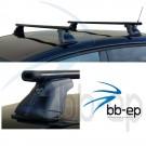 Dachträger für Mazda Premacy mit Riegeln in den Dachstreifen (ohne Dachreling) ab Baujahr 1999