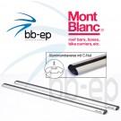 Mont Blanc Aluminiumtraverse A126 für Flex 2 und 3 System