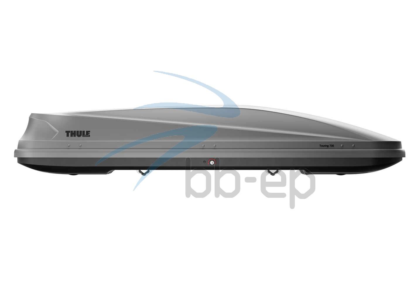 Thule Touring Alpine / Touring 700 schwarz  Titan / Silber