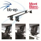 Premium Dachträger von MontBlanc für Audi A3 Sportback (8PA) 5 Türer Schrägheck ab Baujahr 2004 bis heute
