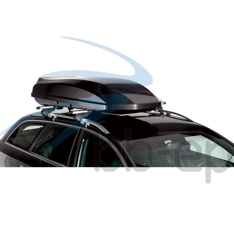 Dachbox Ideal 530 Liter Carbon-Optik 3 Jahre Garantie