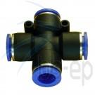X- Steckverbindungen für 4 mm Schlauch