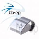 Universal- Schlaggewicht für Alufelgen silberfarbig beschichtet - Wuchtgewicht 5 Gramm 100 Stück
