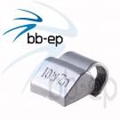 Universal- Schlaggewicht für Alufelgen silberfarbig beschichtet - Wuchtgewicht 10 Gramm 100 Stück