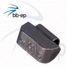 Universal- Schlaggewicht für Stahlfelgen silberfarbig beschichtet - Wuchtgewicht 15 Gramm 100 Stück